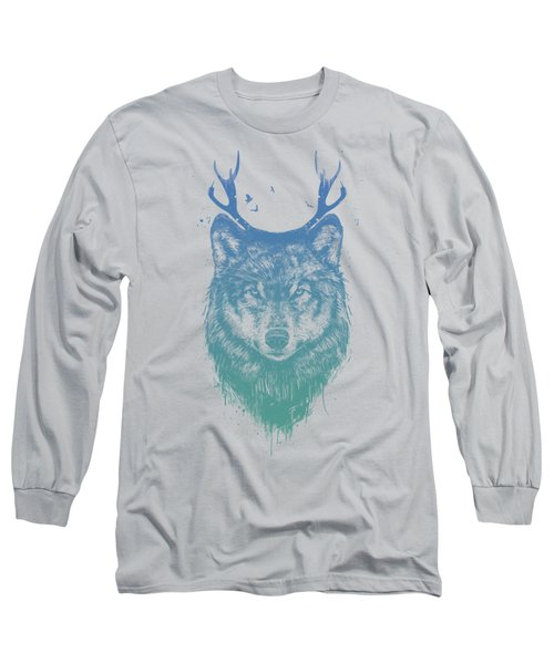 Deer Wolf Long Sleeve T-Shirt