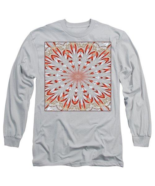 Digitalized Cardinal Long Sleeve T-Shirt