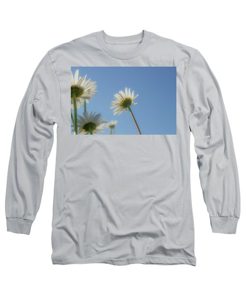 Distracted Daisies Long Sleeve T-Shirt