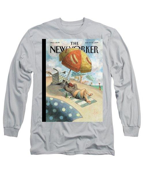 Dog Days Of Summer Long Sleeve T-Shirt