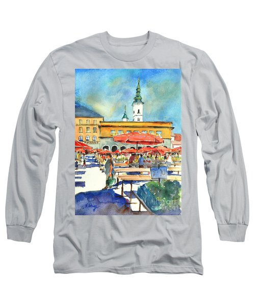 Dolce Market In Zagreb #1 Long Sleeve T-Shirt