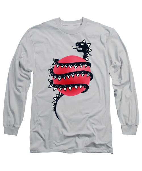 Dragon Snake Monster Long Sleeve T-Shirt