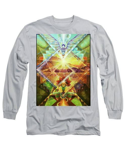 Eagle Boy And The Dawning Of A New Day Long Sleeve T-Shirt