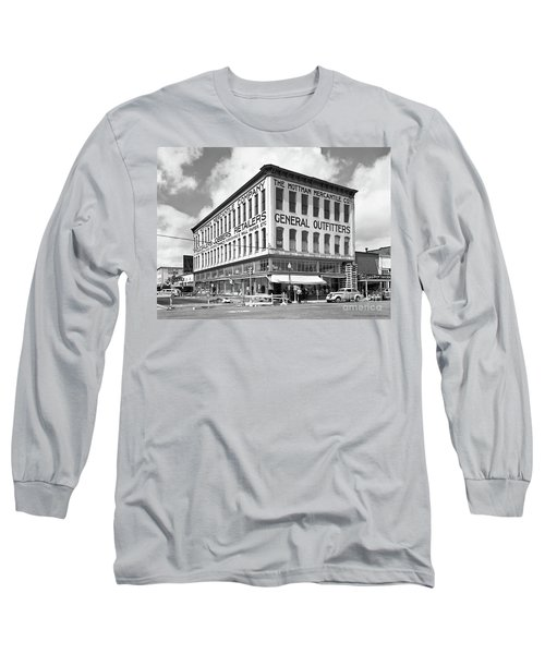 Earthquake Mottman Bldg, April 1949 Long Sleeve T-Shirt