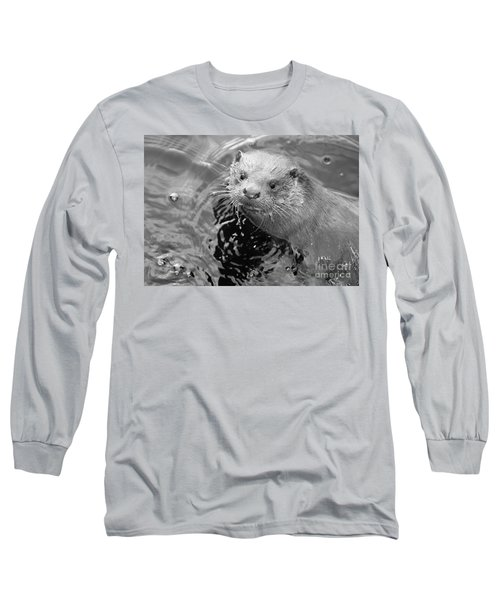 European Otter Long Sleeve T-Shirt