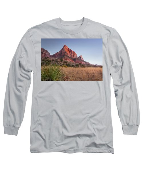 Evening Vista At Zion Long Sleeve T-Shirt