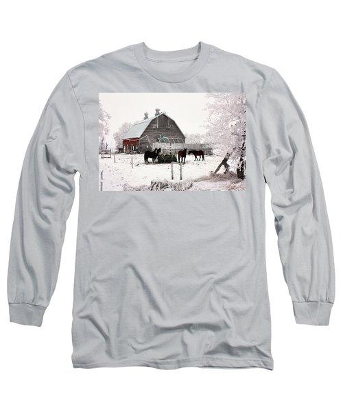 Feed Long Sleeve T-Shirt