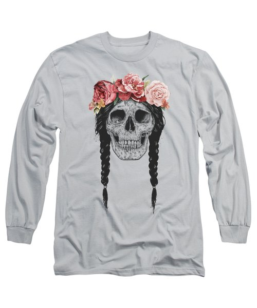 Festival Skull Long Sleeve T-Shirt