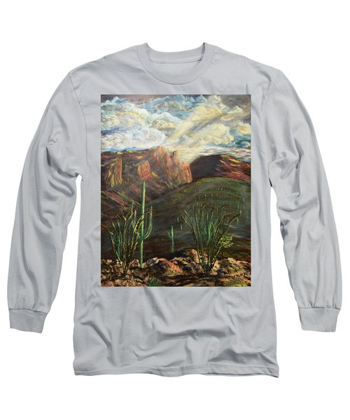 Finger Rock Morning Long Sleeve T-Shirt