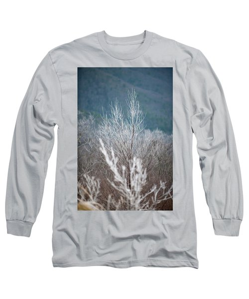 Fingers Of Hoarfrost Long Sleeve T-Shirt