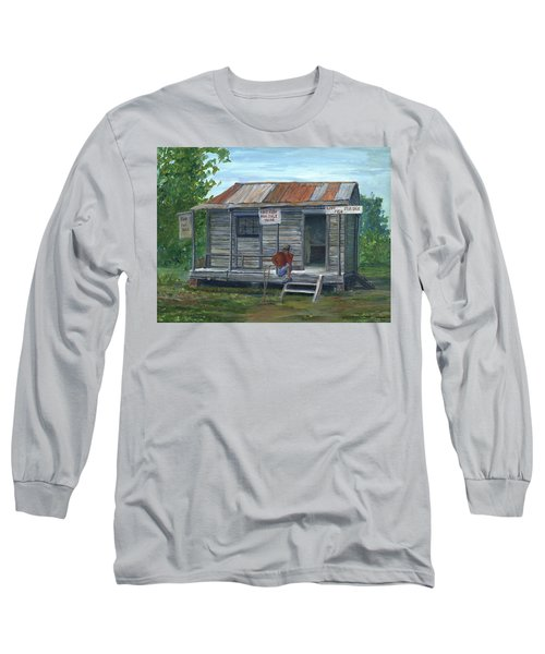 Fish Store, Natchitoches Parish, Louisiana Long Sleeve T-Shirt