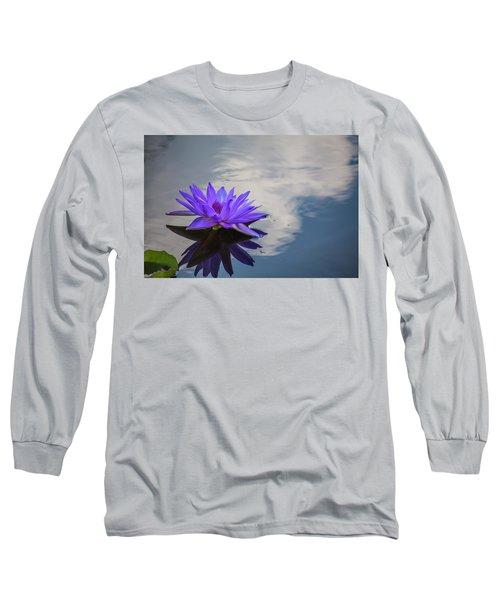 Floating On A Cloud Long Sleeve T-Shirt