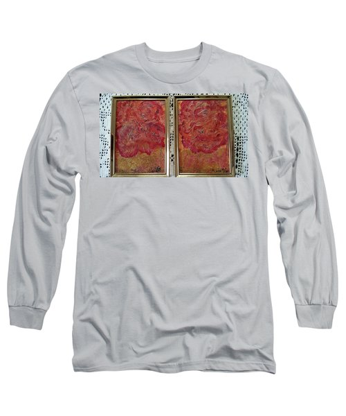 Floral Abstract 2 Long Sleeve T-Shirt