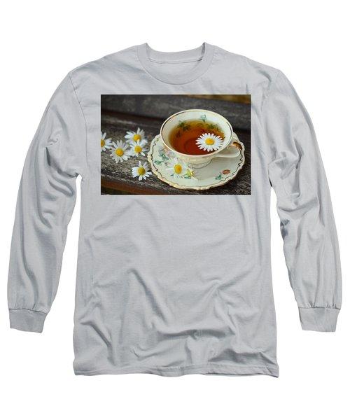 Flower Tea Long Sleeve T-Shirt