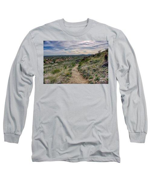 Following The Desert Path Long Sleeve T-Shirt