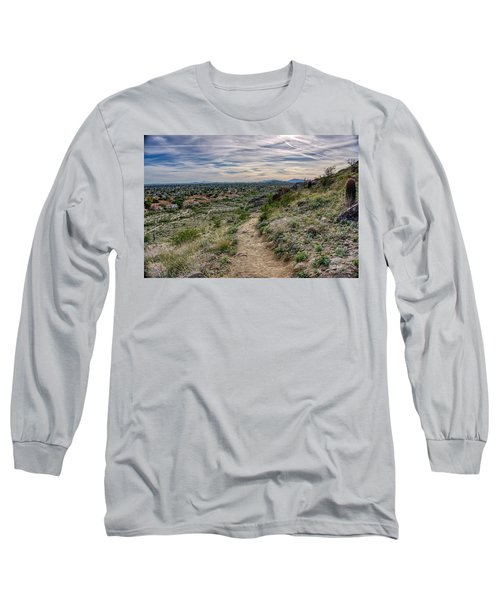 Following The Desert Path Long Sleeve T-Shirt