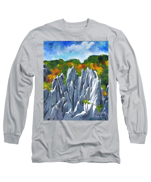 Forest Of Stones Long Sleeve T-Shirt