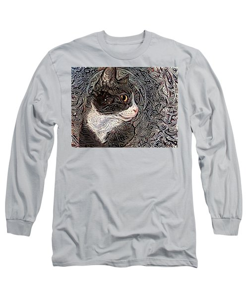 Franklyn The Tuxedo Cat Long Sleeve T-Shirt