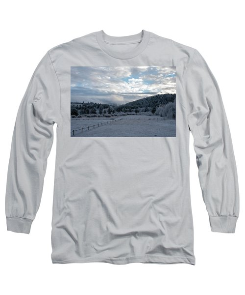 Frosted Sunrise 1 Long Sleeve T-Shirt