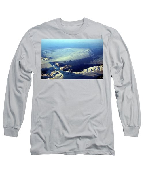 Glacier Pushes Out Long Sleeve T-Shirt