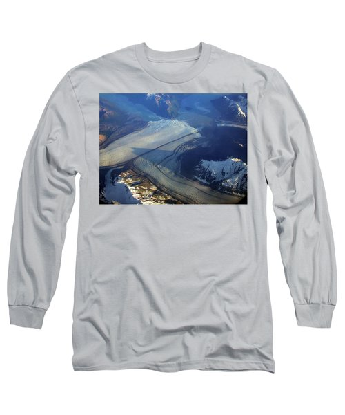 Glaciers Converge Long Sleeve T-Shirt
