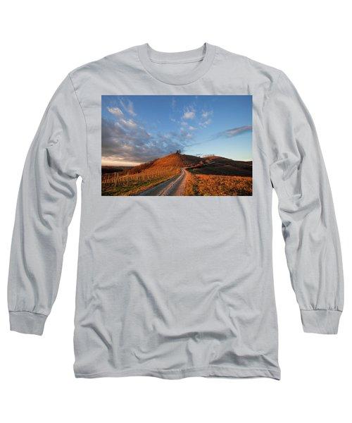 Long Sleeve T-Shirt featuring the photograph Golden Hill by Davor Zerjav