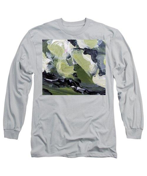 Green #1 Long Sleeve T-Shirt