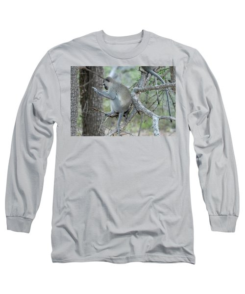 Grooming Or Reading Long Sleeve T-Shirt