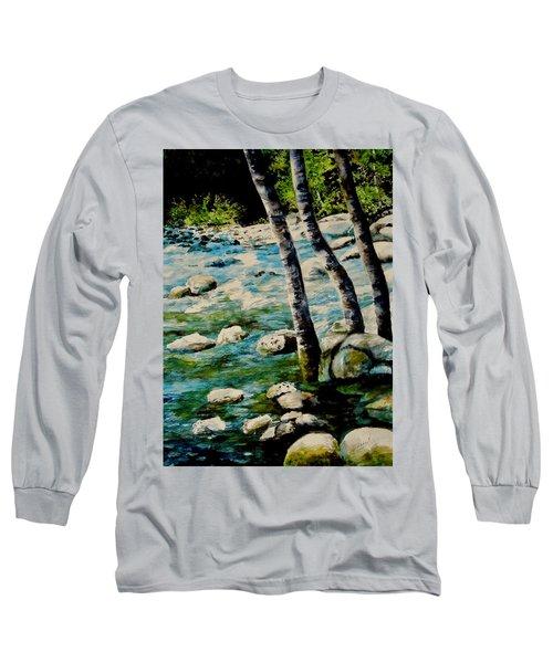 Gushing Waters Long Sleeve T-Shirt