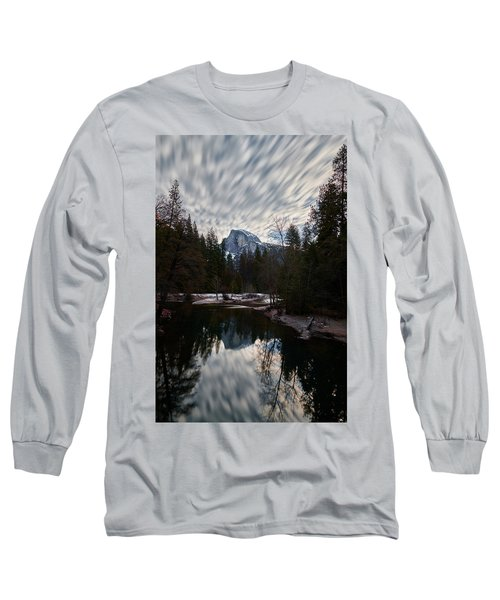 Half Dome Reflection Long Sleeve T-Shirt