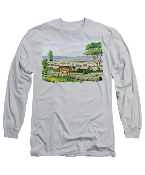He-goat And Homes Long Sleeve T-Shirt