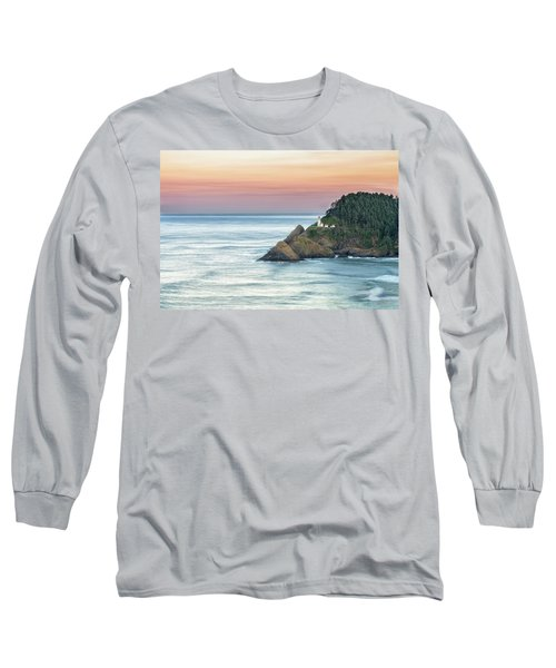 Heceta Lighthouse Long Sleeve T-Shirt