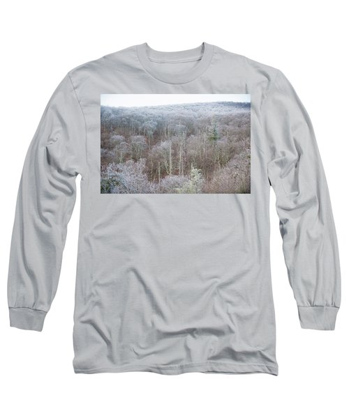 Hoarfrost In The Tree Tops Long Sleeve T-Shirt