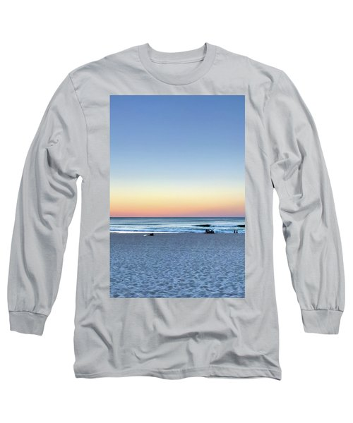 Horizon Over Water Long Sleeve T-Shirt