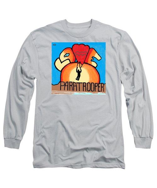 I Love My Paratrooper Long Sleeve T-Shirt