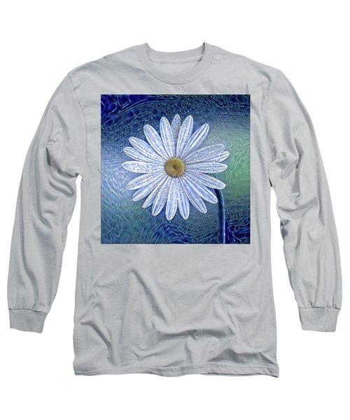 Ice Daisy Flower Long Sleeve T-Shirt