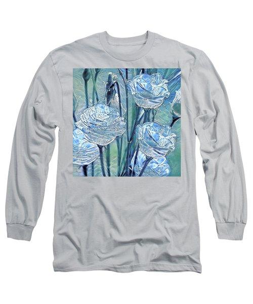 Ice Lisianthus Long Sleeve T-Shirt