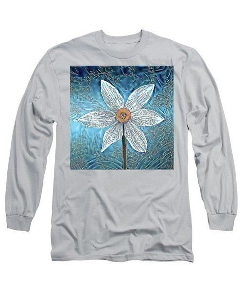 Ice Ornithogalum Long Sleeve T-Shirt