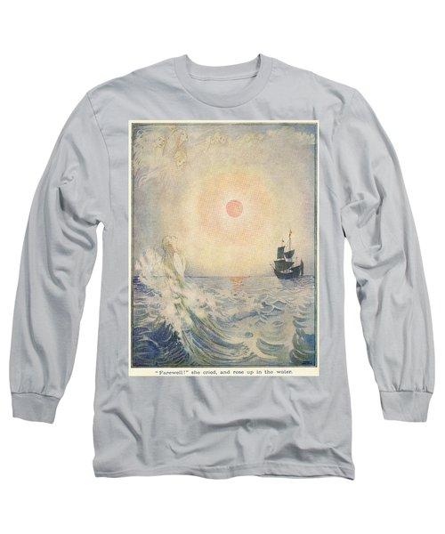 The Little Mermaid, Illustration From  Long Sleeve T-Shirt