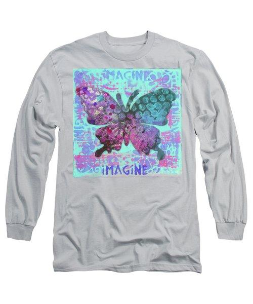 Imagine Butterfly 2 Long Sleeve T-Shirt