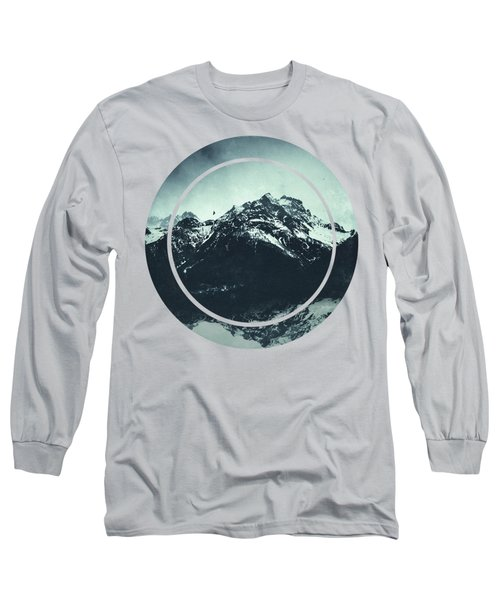 In The Shadow Of The Mountain Long Sleeve T-Shirt