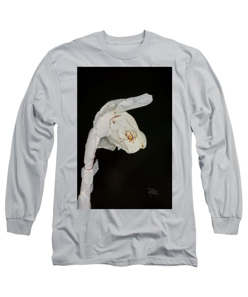Indian Pipe Rabbit Head Long Sleeve T-Shirt