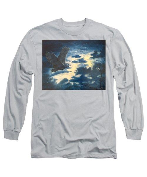 Into The Black Long Sleeve T-Shirt