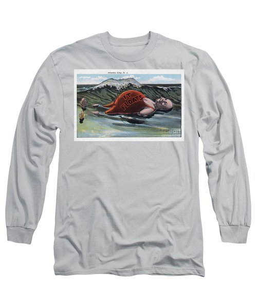 It Floats - Atlantic City Long Sleeve T-Shirt