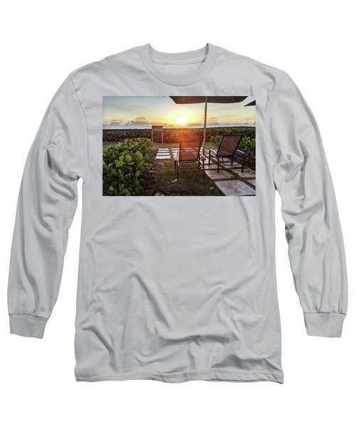 It's Morning Long Sleeve T-Shirt