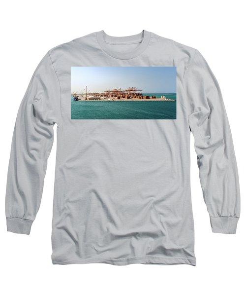 Jeddah Seaport Long Sleeve T-Shirt