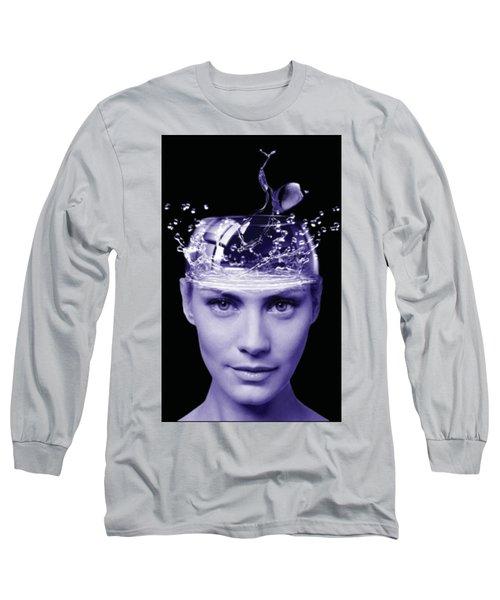 Jestful Water Drops  Long Sleeve T-Shirt