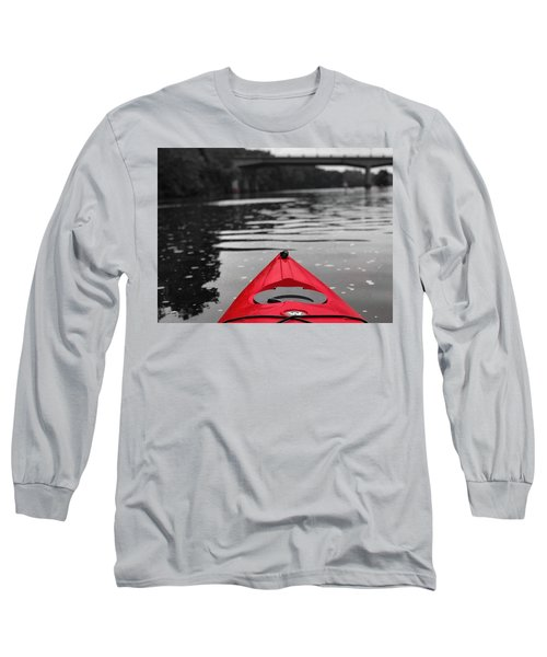 Kayaking The Occoquan Long Sleeve T-Shirt