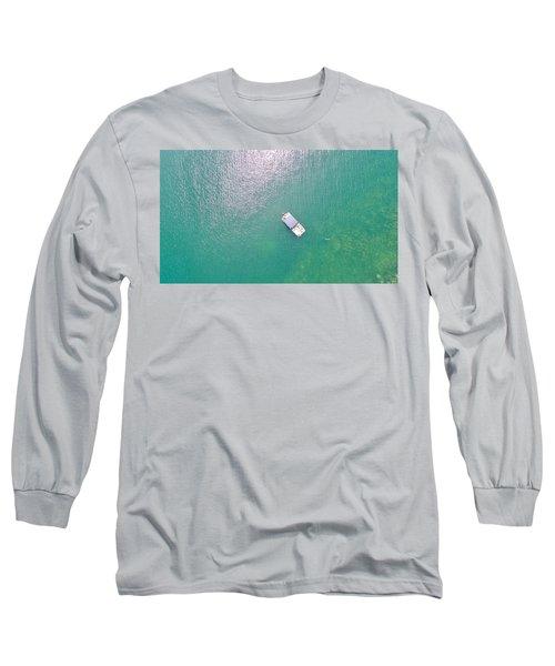 Keuka Lake Boating Long Sleeve T-Shirt