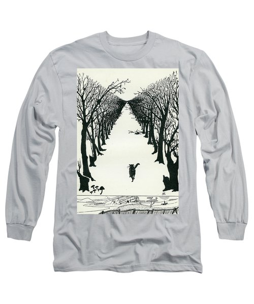 The Cat That Walked By Himself Long Sleeve T-Shirt